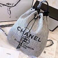Рюкзак Шанель мешочек люкс, фото 1