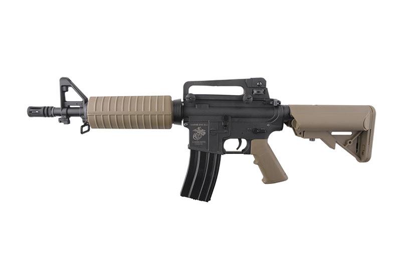Штурмова гвинтівка Specna Arms SA-C02 Core M4 CQB Plastic Body Half-Tan