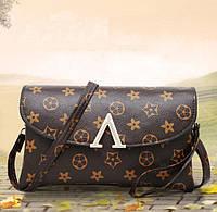 Модный женский клатч сумка в стиле Луи Витон
