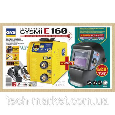 Сварочный инвертор GYS Gysmi E160