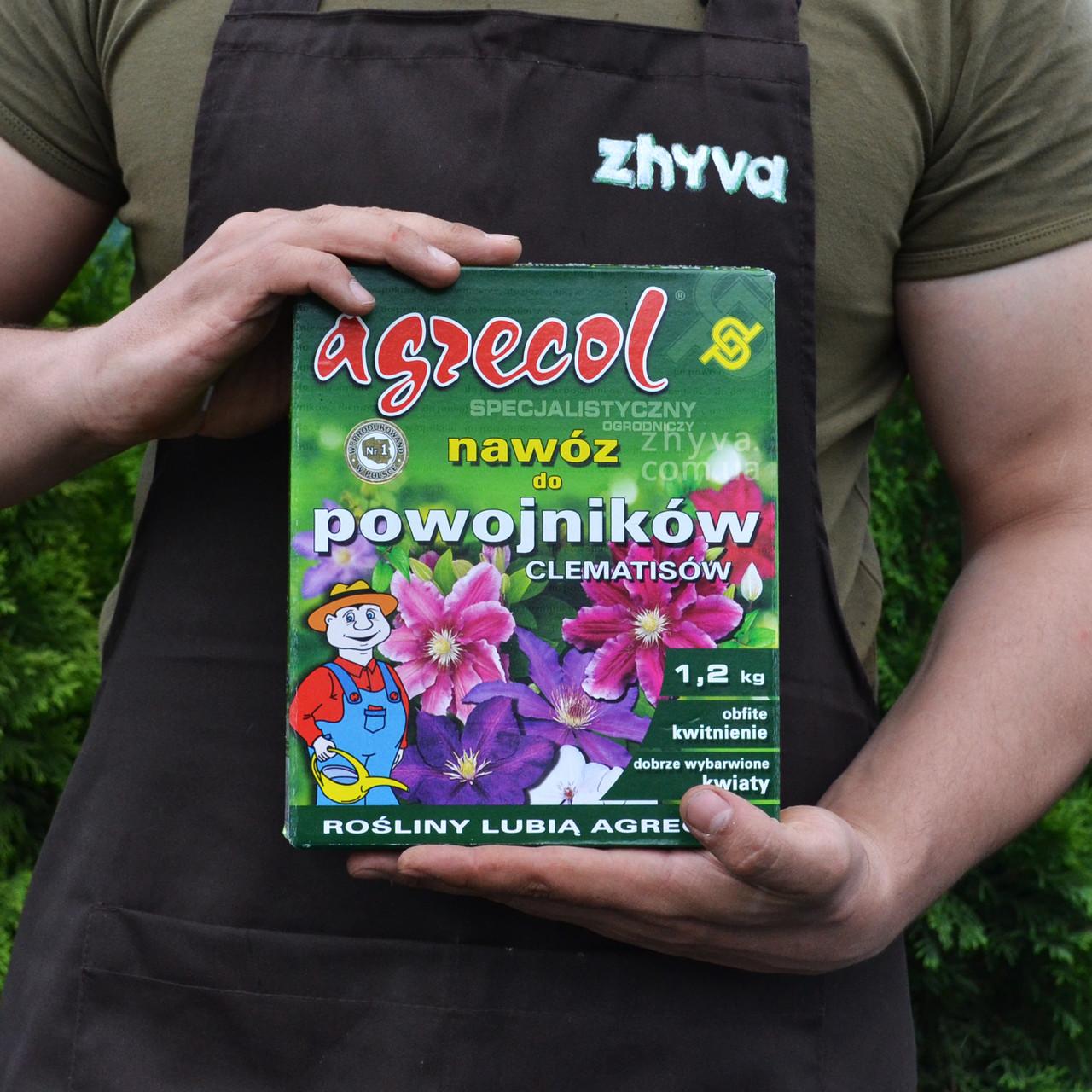 Удобрение для клематисов, лютиков Agrecol 1,2кг
