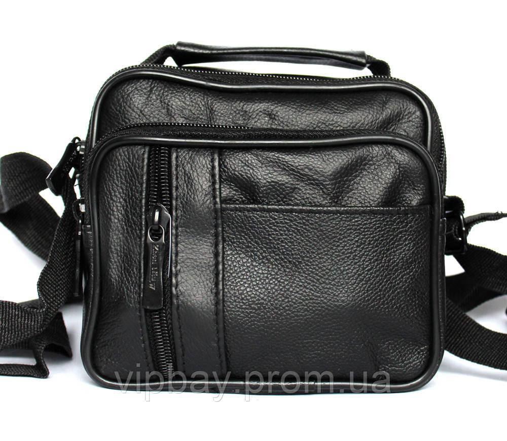 Чоловіча барсетка - сумка через плече компактна (6686-1) 0cab8fd93ce04