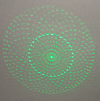 Лазерна зелена указка Green Laser Pointer 5 насадок (лазер 302), фото 3