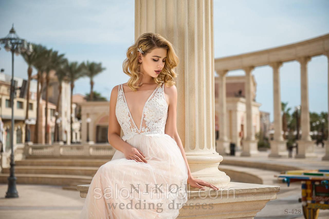Свадебное платье S-428