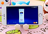 Подставка для телефона (смартфона) СОВА синяя  + копилка, фото 4