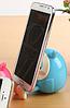 Подставка для телефона (смартфона) СОВА синяя  + копилка, фото 5