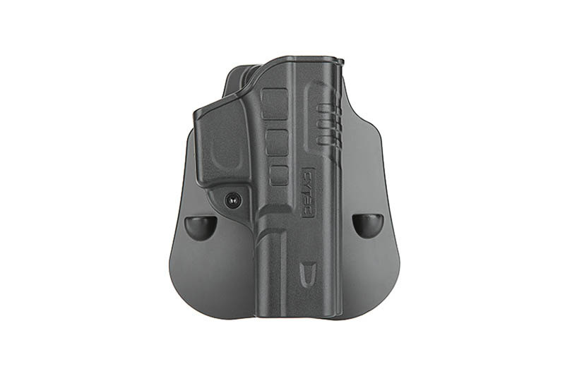 Кобура пластикова CYTAC для Glock 17, 22, 31 FastDraw Holster - Black