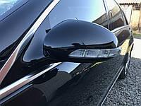 Зеркало левое черное Mercedes s-class w221