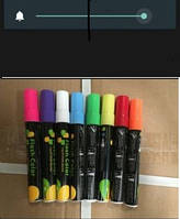 Набор маркеров сухостираемых флюорэсцентных 8 цв\уп.