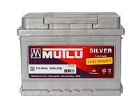 Аккумулятор автомобильный Mutlu Silver Calcium 6СТ-60, 60 А/ч, 540 A, левый +