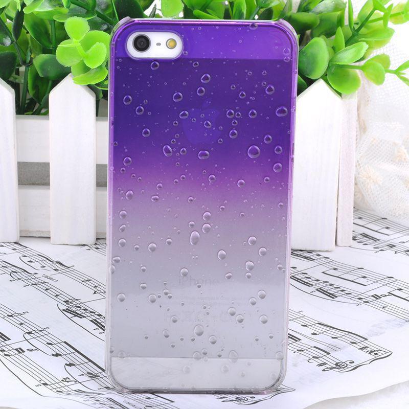 Чехол Epik для Apple iPhone 5 5S SE 3D Капли Purple