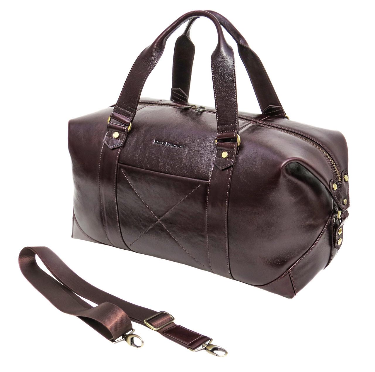 b5a220cf8d91 Мужская кожаная дорожная сумка (Баул) Black Diamond BD32Calk - Цена ...