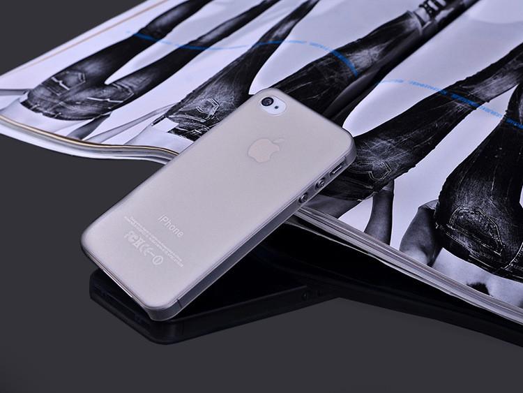 Чехол Epik для Apple iPhone 4 4S Super-Slim Gray
