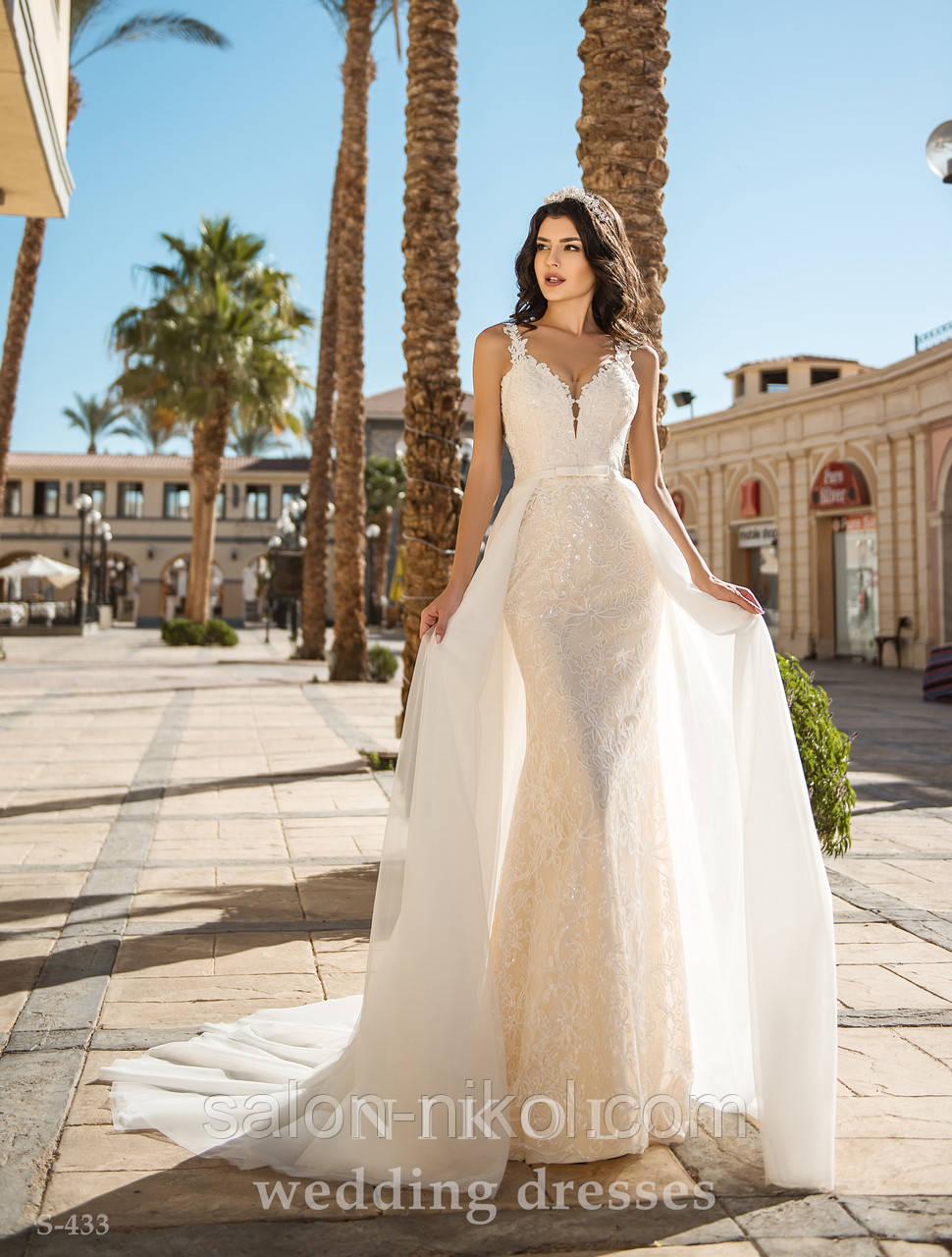 Свадебное платье S-433