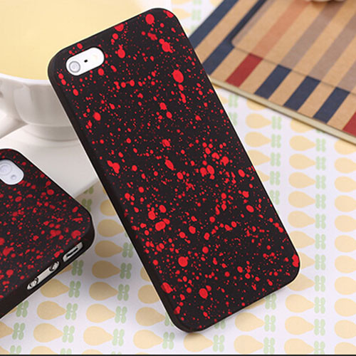 Чехол Epik для Apple iPhone 5 5S SE 3D Soft-Touch Red