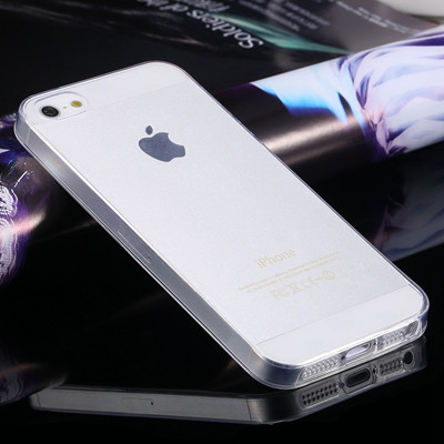 Чехол Epik для Apple iPhone 5 5S SE Ultra-Slim Прозрачный