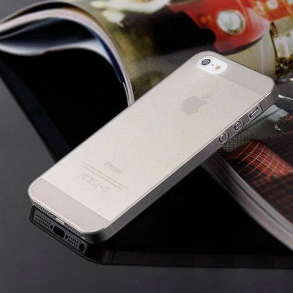 Чехол Epik для Apple iPhone 5 5S SE Super-Slim Gray