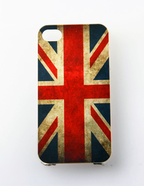 Чехол Epik для Apple iPhone 4 4S UK Flag