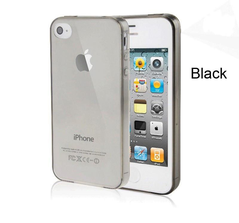 Чехол Epik для Apple iPhone 4 4S Ultra-Slim Black