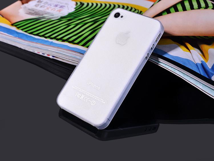 Чехол Epik для Apple iPhone 4 4S Super-Slim White