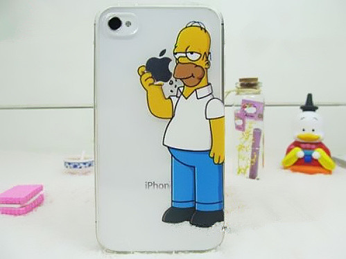 Чехол Epik для Apple iPhone 4 4S Гомер Simpsons