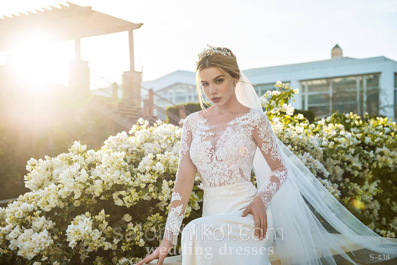 Свадебное платье S-438