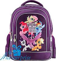 Рюкзак для первоклассника с ортопедической спинкой Kite My Little Pony LP18-509S, фото 1