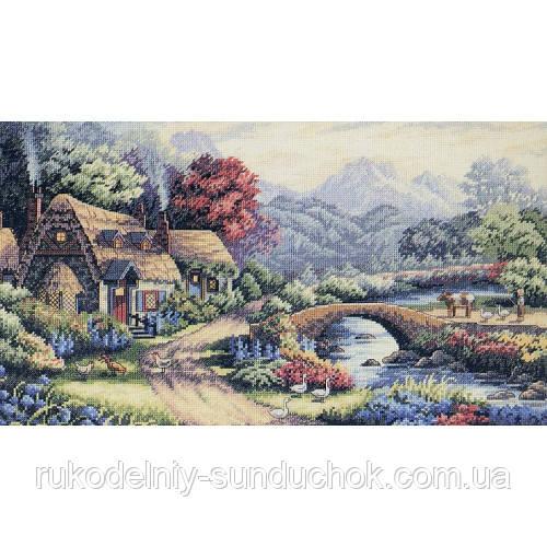 Набор для вышивания крестом Classic Design 4447 Английский коттедж