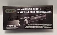 Тактичний ліхтарик Police XJXQ-Т8626B 158000w з лінзою Bailong