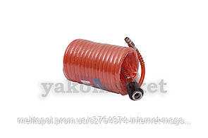 Шланг спиральный Einhell - 4 м, 6 x 8 мм, полиуретановый