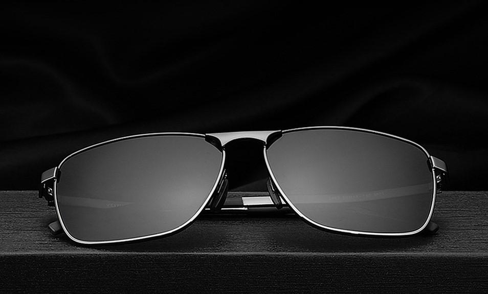 Очки солнцезащитные поляризованные унисекс VEITHDIA. Серые