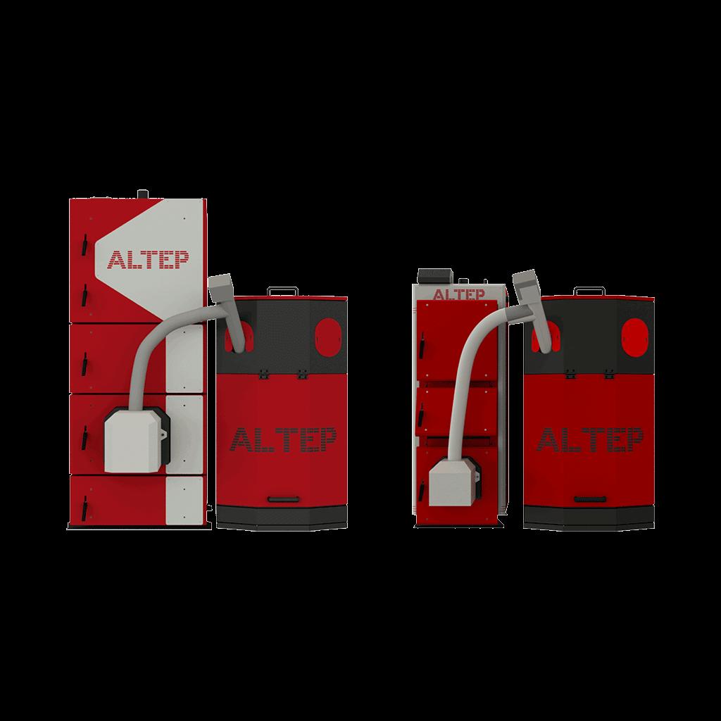 Твердотопливные котлы Альтеп DUO UNI Pellet Plus 62 кВт (Украина)