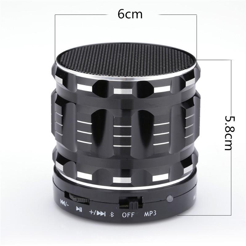Портативная Аудио-колонка TOTO Bluetooth/AUX/TF-card 3W Black