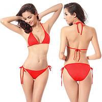 Пляжный женский купальник на завязках! Есть разные цвета!