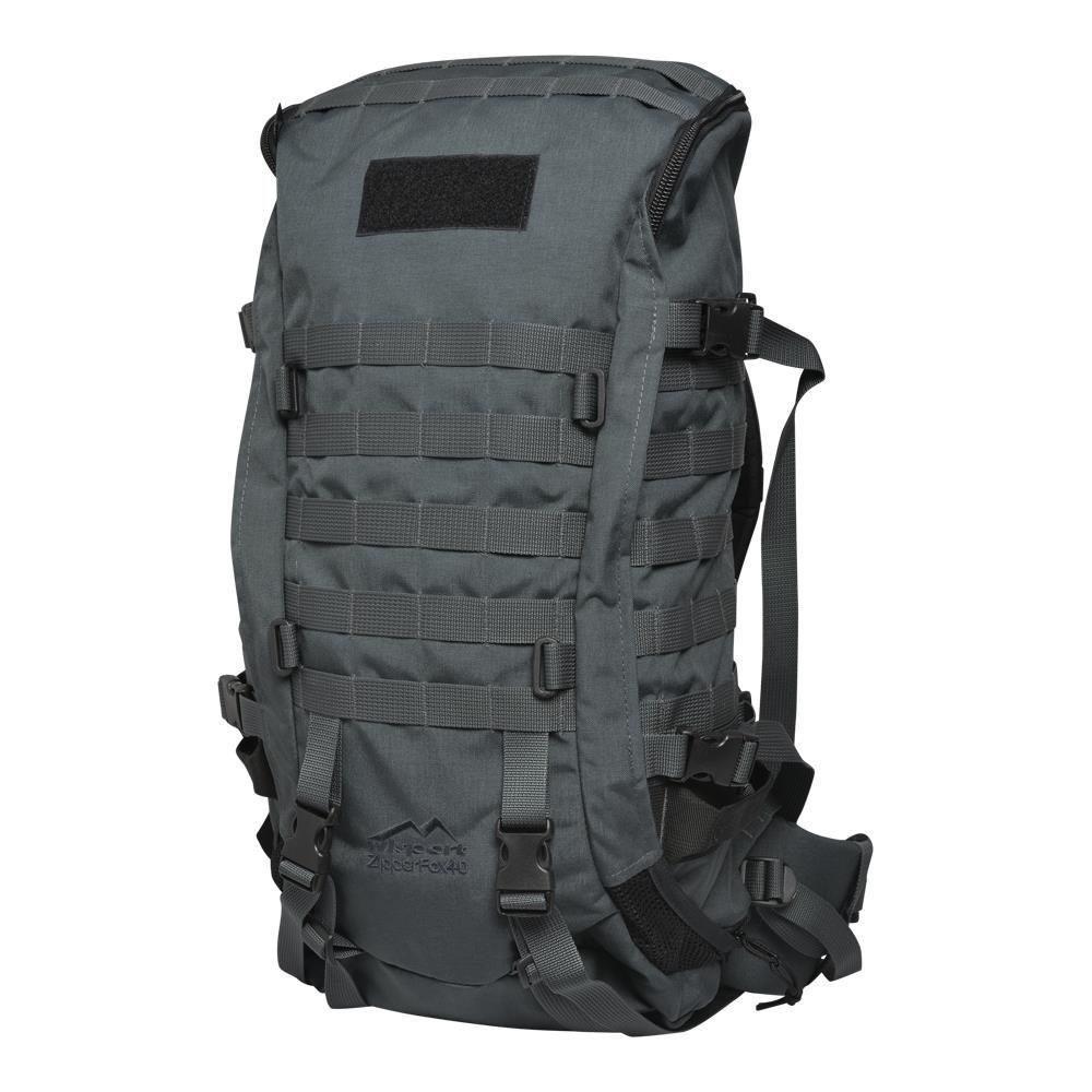 Рюкзак тактичний Wisport ZIPPER FOX 40L Graphite