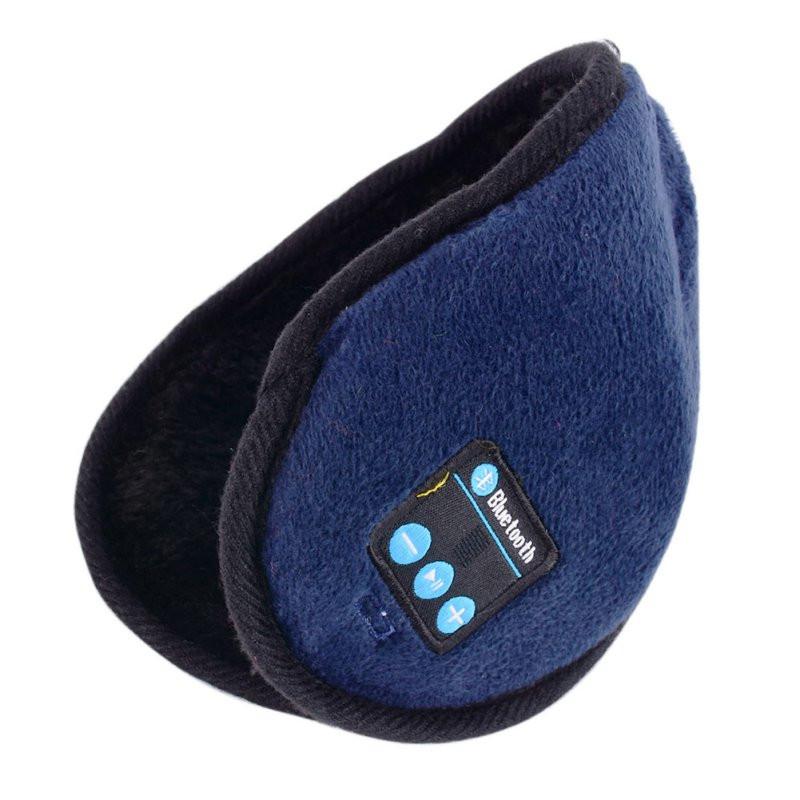 Зимние Bluetooth-наушники гарнитура TOTO Blue