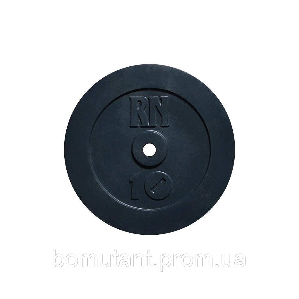 Диск 10 кг на гриф диаметром 25 мм