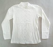 Детская школьная блузка на девочек 6-12 лет