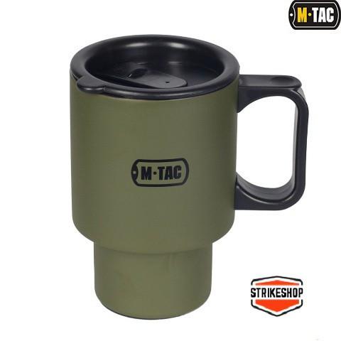 Термокружка з кришкою M-Tac Olive 450ml