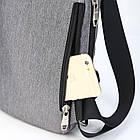 Сумка рюкзак черная, фото 7