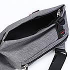 Сумка рюкзак серая, фото 8