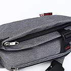 Сумка рюкзак серая, фото 9