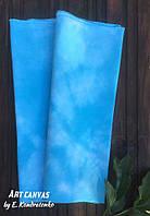 Ткань равномерного плетения ручного окраса А001