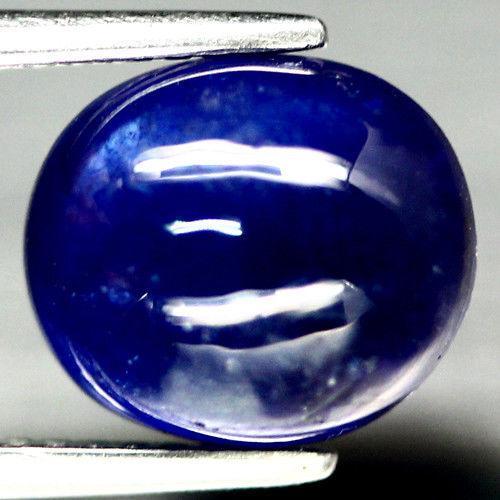 5.12 кт Природний блакитний сапфір Мадагаскару