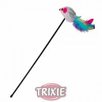 Палочка с мышкой Trixie / TX-4516Специальная удочка для котов, на крючке симпатичная мышка.