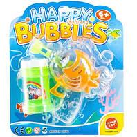 """Детские мыльные пузыри. Пистолет с мыльными пузырями """"Морские жители"""" - Морской конек, JT6070"""