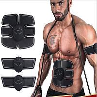 Миостимулятор 3 в 1 body mobile gym стимулятор мышц пресса и рук (Пояс Ems-trainer) оригинал