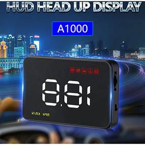 Проектор Скорости на лобовое стекло HUD A1000!Акция, фото 2