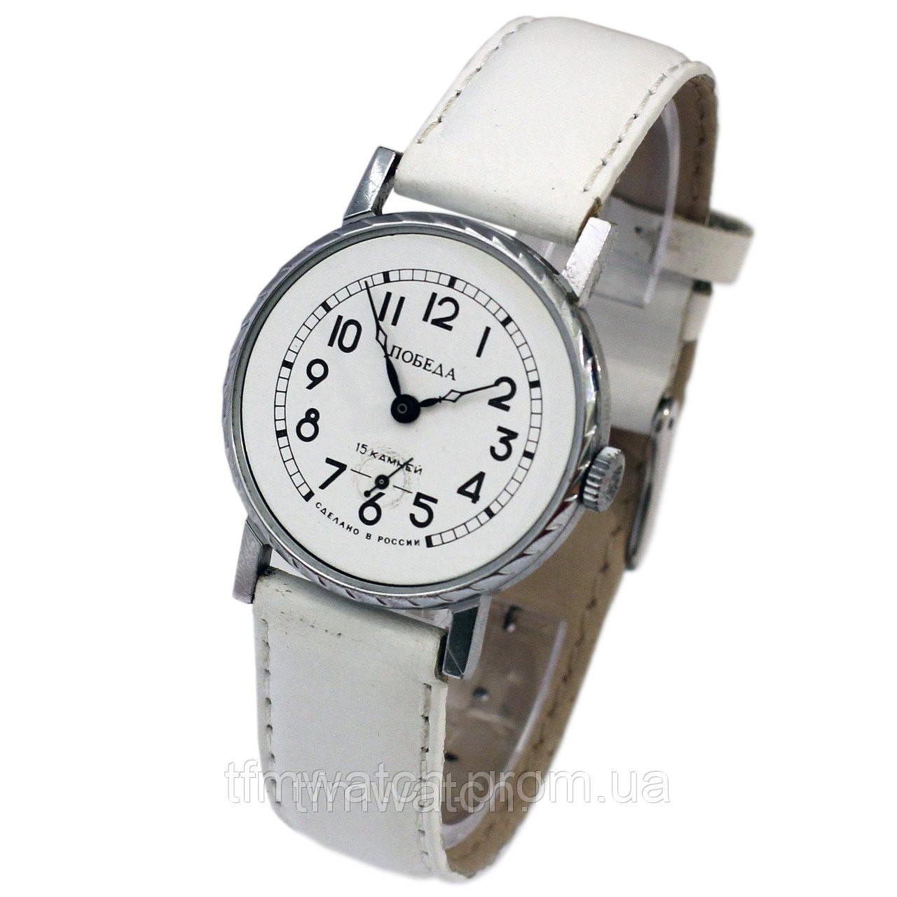6a3c7b4d Часы Победа 15 камней - Магазин старинных, винтажных и антикварных часов  TFMwatch в России