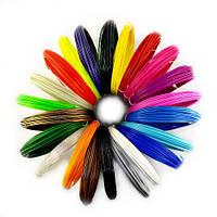 Набор ПЛА PLA пластика для 3D ручки 3Doodler 3 м